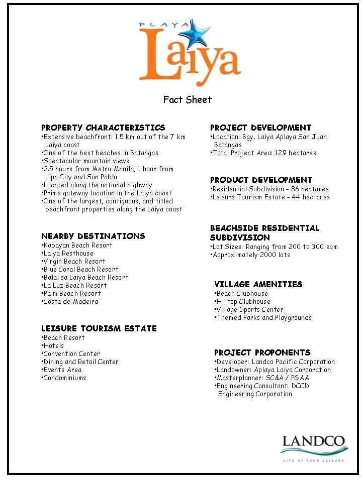 Playa Laiya home page Beach Properties in Batangas