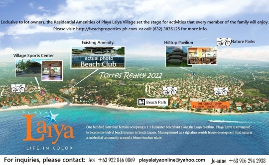 Village Amenities updated by Torres Realty
