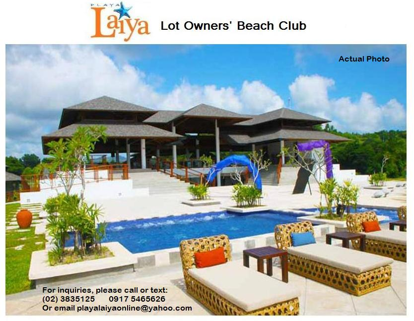 Playa Laiya Beach Club Batangas