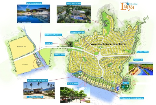 Playa Laiya Newest Site Development Plan